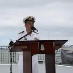 Captain Michael Turner, Captain of HMAS Warramunga