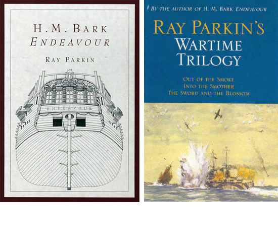 HM Bark Endeavour and Wartime Trilogy